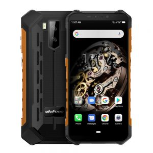 Ulefone Armor X5 5.5 Inch NFC IP68 IP69K Waterproof 3GB 32GB 5000mAh MT6763 Octa core 4G Smartphone - Orange
