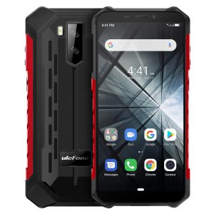 Ulefone ARMOR X3 IP68 IP69K Waterproof 5.5 inch 5000mAh 2GB 32GB MT6580 Quad core 3G Smartphone - Red