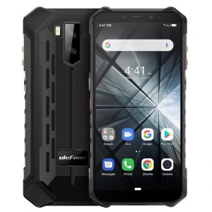 Ulefone ARMOR X3 IP68 IP69K Waterproof 5.5 inch 5000mAh 2GB 32GB MT6580 Quad core 3G Smartphone - Grey
