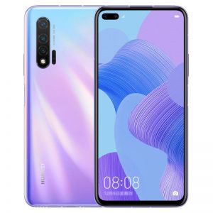 HUAWEI Nova 6 CN 4G Version 6.57 inch 40MP Triple Rear Camera 8GB 128GB NFC 4100mAh 40W Fast Charge Kirin 990 Octa Core 4G Smartphone - Violet