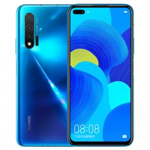 HUAWEI Nova 6 CN 4G Version 6.57 inch 40MP Triple Rear Camera 8GB 128GB NFC 4100mAh 40W Fast Charge Kirin 990 Octa Core 4G Smartphone - Blue