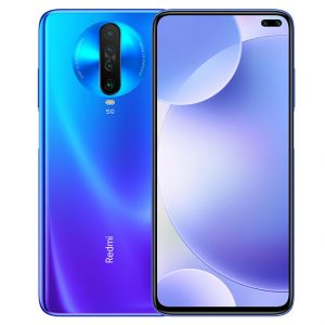 Xiaomi Redmi K30 CN 5G Version 6.67 inch 8GB 128GB 120Hz Fluid Display 64MP Quad Rear Cameras 4500mAh 30W Fast Charge NFC Snapdragon 765G Octa core 5G Smartphone - Blue