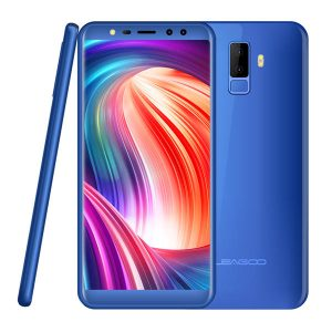 Leagoo M9 5.5 Inch 18:9 Quad Camera 2GB RAM 16GB ROM MT6580A 1.3GHz Quad-Core 3G Smartphone - Blue