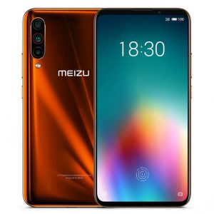 Meizu 16T CN Version 6.5 inch Triple Rear Camera 8GB 256GB 4500mAh Snapdragon 855 Octa core 4G Smartphone - Orange