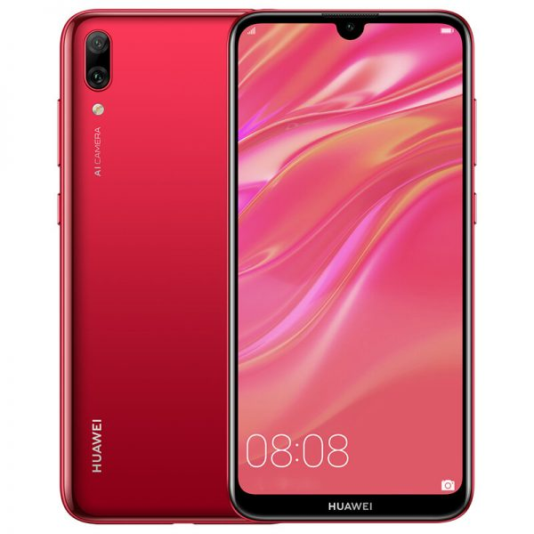 HUAWEI Enjoy 9 6.26 inch 13MP Dual Rear Camera 4GB RAM 64GB ROM Snapdragon 450 Octa core 4G Smartphone - Red