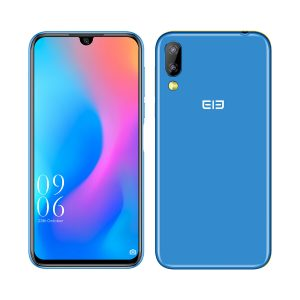 Elephone A6 Mini 5.71 Inch HD+ Android 9.0 3180mAh Side Fingerprint 4GB 32GB MT6761 Quad Core 4G Smartphone - Blue