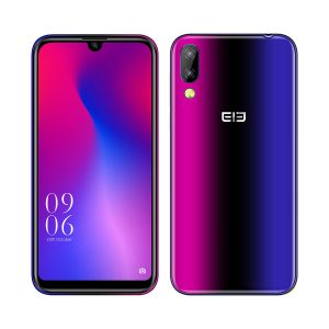 Elephone A6 Mini 5.71 Inch HD+ Android 9.0 3180mAh Side Fingerprint 4GB 32GB MT6761 Quad Core 4G Smartphone - Rainbow