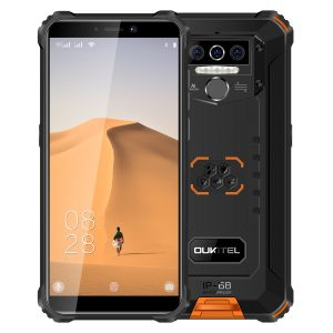 OUKITEL WP5 5.5 inch HD+ IP68 & IP69 Waterproof 8000mAh Battery Android 9.0 13MP Triple Rear Camera 4GB RAM 32GB ROM MT6761 Quad Core 4G Smartphone - Orange