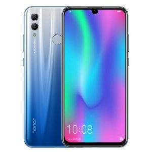 HUAWEI Honor 10 Lite Global ROM 6.21 inch 24MP AI Selfie 4GB 64GB Kirin 710 Octa core 4G Smartphone - Blue