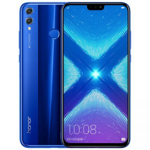 Huawei Honor 8X 20MP Dual Rear Camera 6.5 inch 6GB 128GB Kirin 710 Octa core 4G Smartphone - Blue