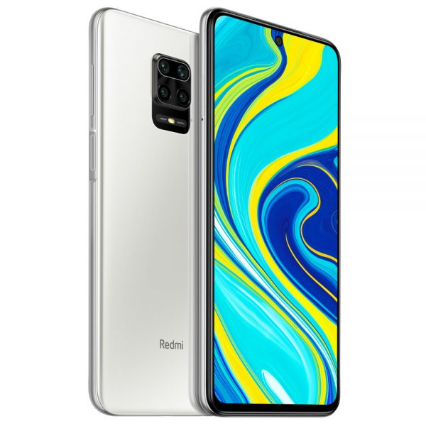 Xiaomi Redmi Note 9S 6.67 inch 48MP Quad Camera 6GB 128GB 5020mAh Snapdragon 720G Octa core 4G Smartphone - Glacier White