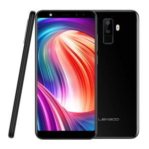 Leagoo M9 5.5 Inch 18:9 Quad Camera 2GB RAM 16GB ROM MT6580A 1.3GHz Quad-Core 3G Smartphone - Black