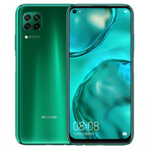 HUAWEI Nova 6 SE CN Version 6.4 inch 48MP Quad Rear Camera 8GB 128GB 4200mAh 40W Fast Charge Kirin 810 Octa Core 4G Smartphone - Green