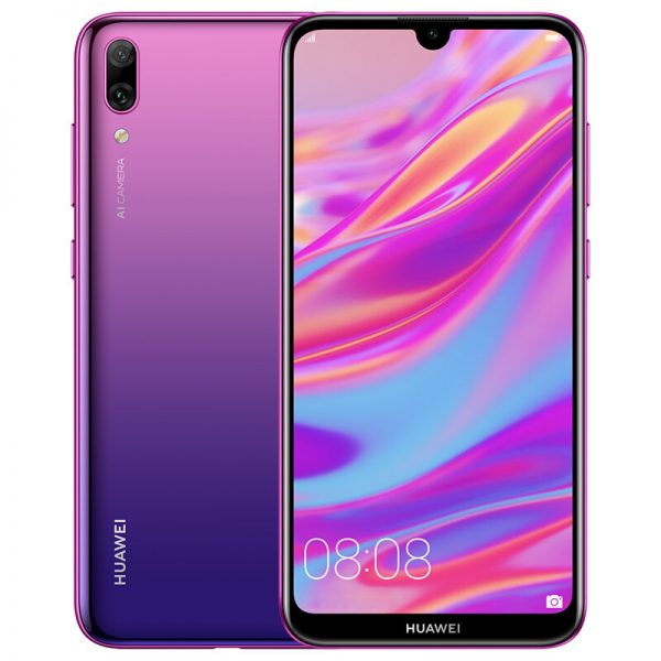 HUAWEI Enjoy 9 6.26 inch 13MP Dual Rear Camera 4GB RAM 64GB ROM Snapdragon 450 Octa core 4G Smartphone - Purple