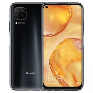 HUAWEI Nova 6 SE CN Version 6.4 inch 48MP Quad Rear Camera 8GB 128GB 4200mAh 40W Fast Charge Kirin 810 Octa Core 4G Smartphone - Black