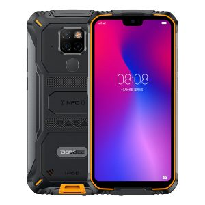 DOOGEE S68 Pro 5.9 inch FHD+ IP68 Waterdrop 6300mAh NFC 21MP Triple Rear Cameras 6GB RAM 128GB ROM Helio P70 Octa Core 2.0GHz 4G Smartphone - Orange