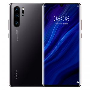 HUAWEI P30 Pro 6.47 inch 40MP Quad Rear Camera Wireless Charge 8GB RAM 256GB ROM Kirin 980 Octa core 4G Smartphone - Black