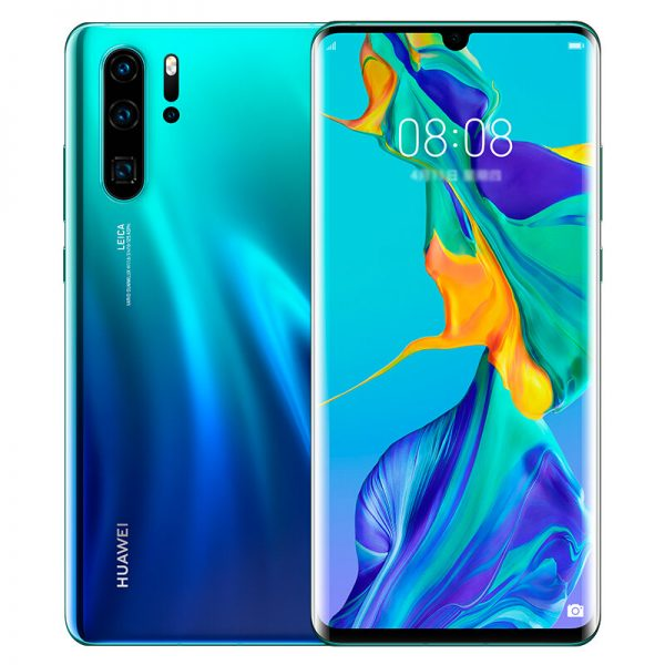 HUAWEI P30 Pro 6.47 inch 40MP Quad Rear Camera Wireless Charge 8GB RAM 512GB ROM Kirin 980 Octa core 4G Smartphone - Twilight