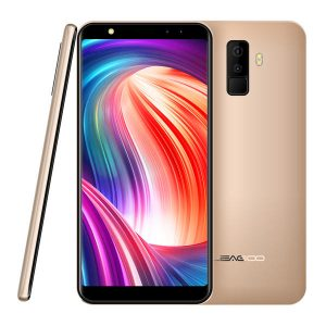 Leagoo M9 5.5 Inch 18:9 Quad Camera 2GB RAM 16GB ROM MT6580A 1.3GHz Quad-Core 3G Smartphone - Gold