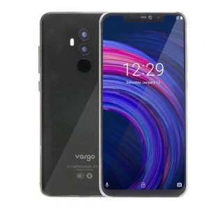 Vargo VX4 6.2 inch FHD+ Notch Screen 3550mAh 16MP Dual Cameras 6GB RAM 128GB ROM Helio P23 Octa Core 2.0GHz 4G Smartphone - Black