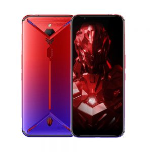 ZTE Nubia Red Magic 3S 6.65 Inch FHD+ 90Hz Android 9.0 5000mAh 12GB RAM 256GB ROM UFS3.0 Snapdragon 855 Plus Octa Core 2.96GHz 4G Gaming Smartphone - Red Blue