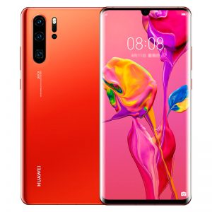 HUAWEI P30 Pro 6.47 inch 40MP Quad Rear Camera Wireless Charge 8GB RAM 256GB ROM Kirin 980 Octa core 4G Smartphone - Orange