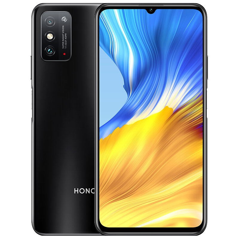 HUAWEI Honor X10 Max CN Version 7.09 inch 48MP Dual Rear Camera 8GB 128GB 5000mAh MTK Dimensity 800 Octa Core 5G Smartphone - Black