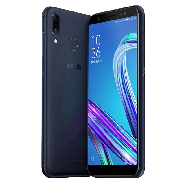 ASUS ZenFone Max (M1) ZB555KL 5.5 inch 4000mAh Android 8 13MP+8MP Dual Rear Cameras 2GB 16GB Snapdragon 425 4G Smartphone - Black