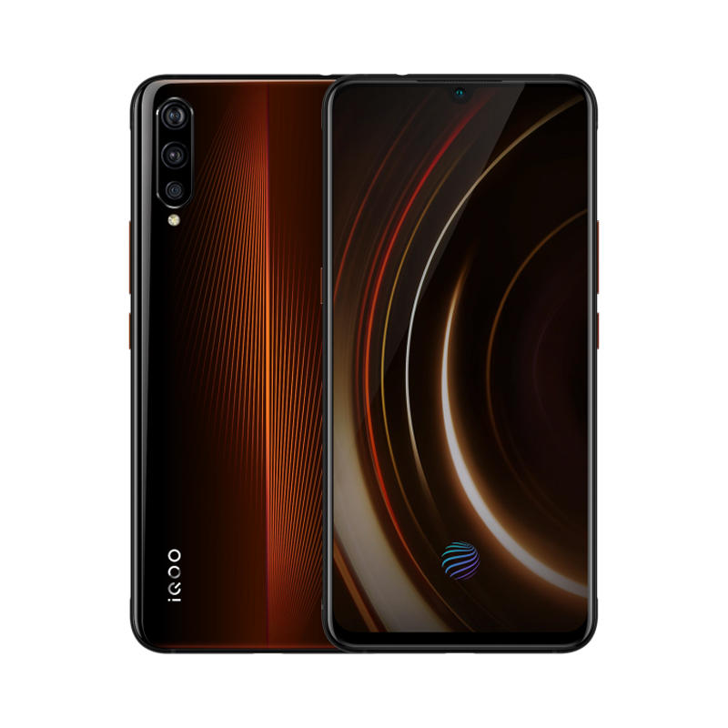 VIVO iQOO 6.41 Inch FHD+ NFC 4000mAh 44W Flash Charge 8GB 128GB Snapdragon 855 4G Gaming Smartphone - Lava Orange