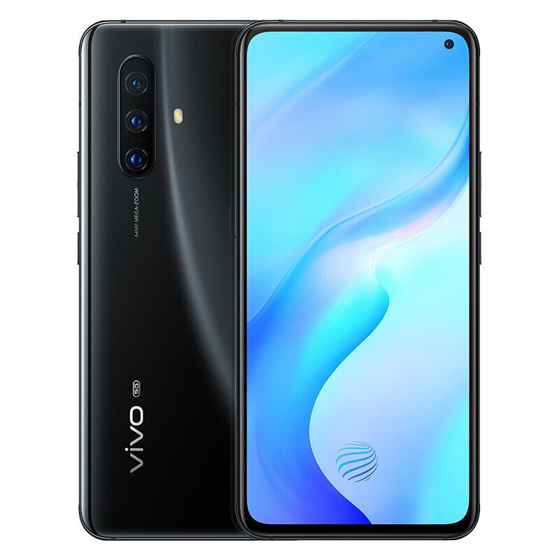 vivo X30 5G CN Version 6.44 inch FHD+ NFC 4350mAh 32MP Front Camera 8GB 256GB Exynos 980 Smartphone - Black