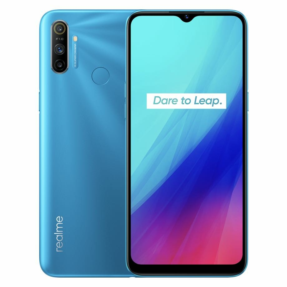 Realme Q2 5G CN Version 6.5 inch FHD+ 120Hz Refresh Rate Android 10.0 5000mAh 30W Superdart Charge 4GB 128GB Dimensity 800U 48MP Triple Rear Camera Smartphone Dimensity 800U 48MP Triple Rear Camera Smartphone - Blue CN Version