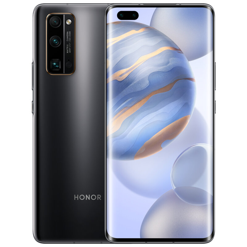 HUAWEI Honor 30 Pro CN Version 6.57 inch 50X Zoom 40MP Triple Camera 8GB 256GB Kirin 990 Octa Core 5G Smartphone - Black
