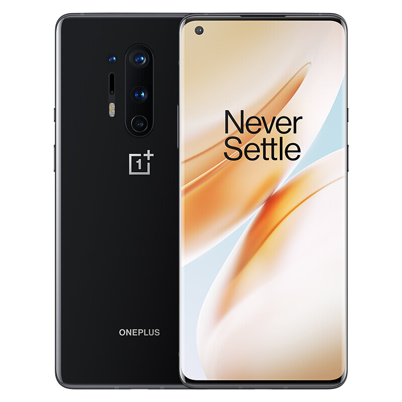 OnePlus 8 Pro 5G 6.78 inch QHD+ 120Hz Refresh Rate IP68 NFC Android 10 4510mAh 48MP Quad Rear Camera 8GB 128GB Snapdragon 865 Smartphone - Onyx Black