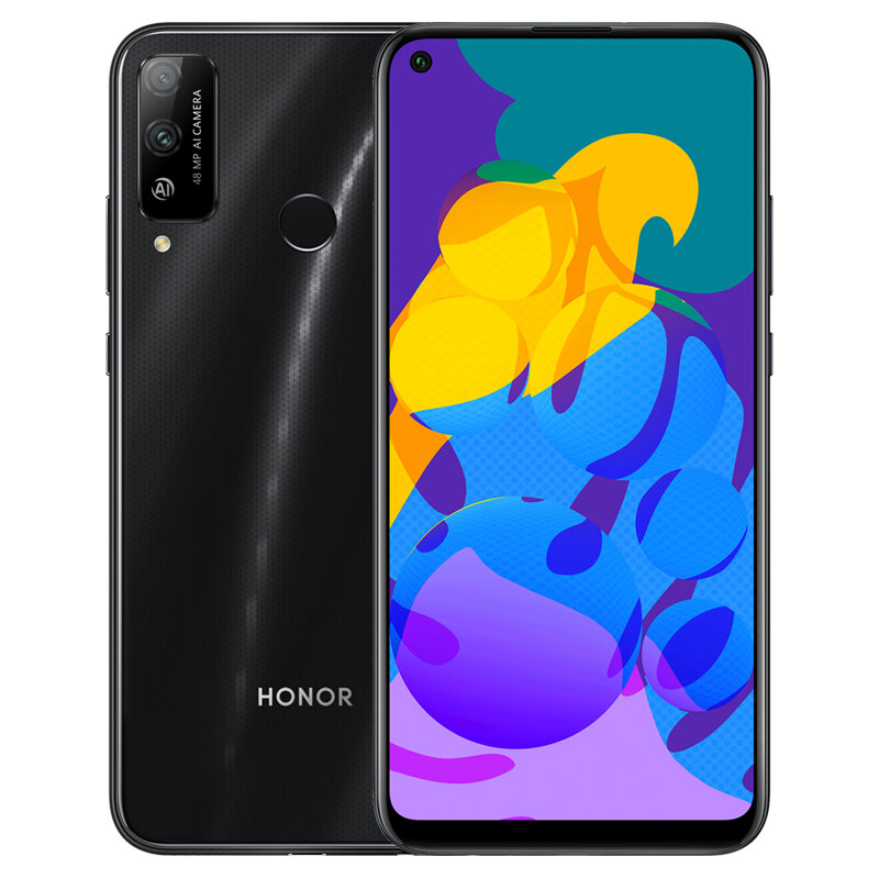 HUAWEI Honor Play 4T CN Version 6.39 inch 48MP Dual Camera 6GB RAM 128GB ROM Kirin 710A Octa Core 4G Smartphone - Black