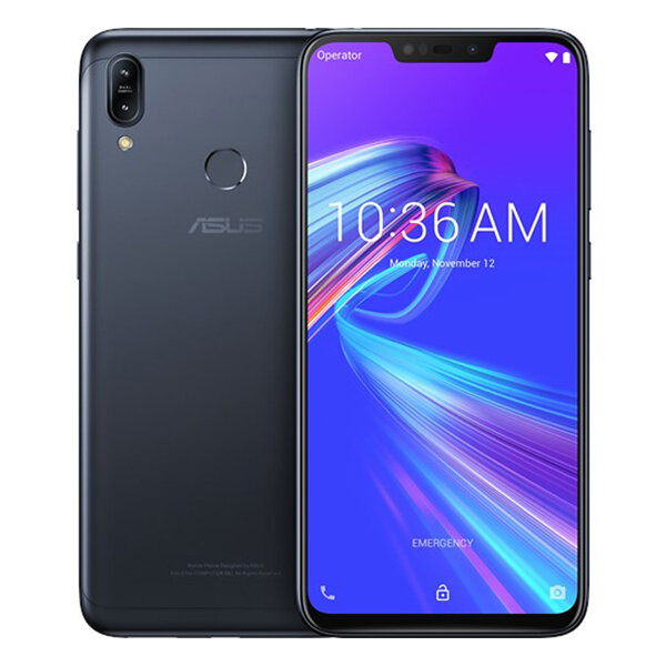 ASUS ZenFone Max (M2) ZB633KL 6.3 inch HD+ 4000mAh 13MP Dual Rear Camera 3-card Shot Android 8.1 3GB 32GB Snapdragon 632 4G Smartphone - Midnight Black