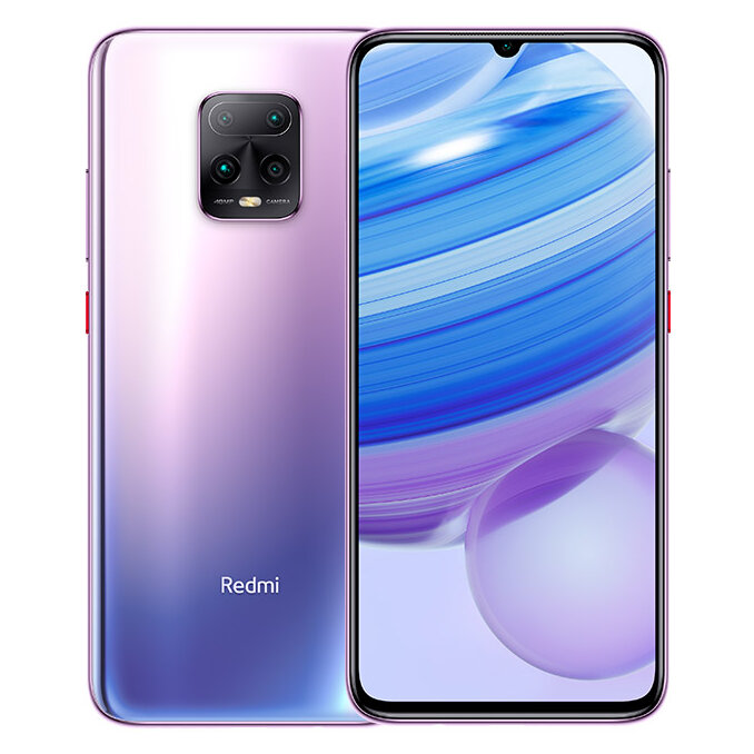 Xiaomi Redmi 10X Pro 5G CN Version 6.57 inch 48MP Quad Camera 8GB 128GB 4520mAh NFC MTK Dimensity 820 Octa core 5G Smartphone - Purple