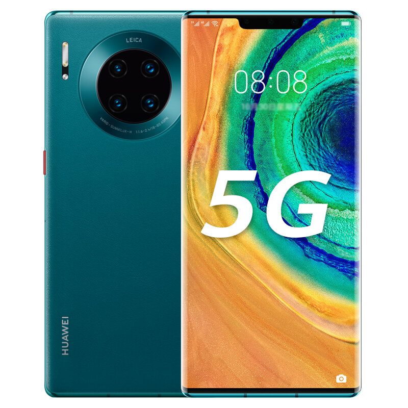 HUAWEI Mate 30E Pro 6.53 inch 40MP Quad Rear Camera 8GB 256GB NFC 4500mAh Wireless Charge Kirin 990E Octa Core 5G Smartphone - Green