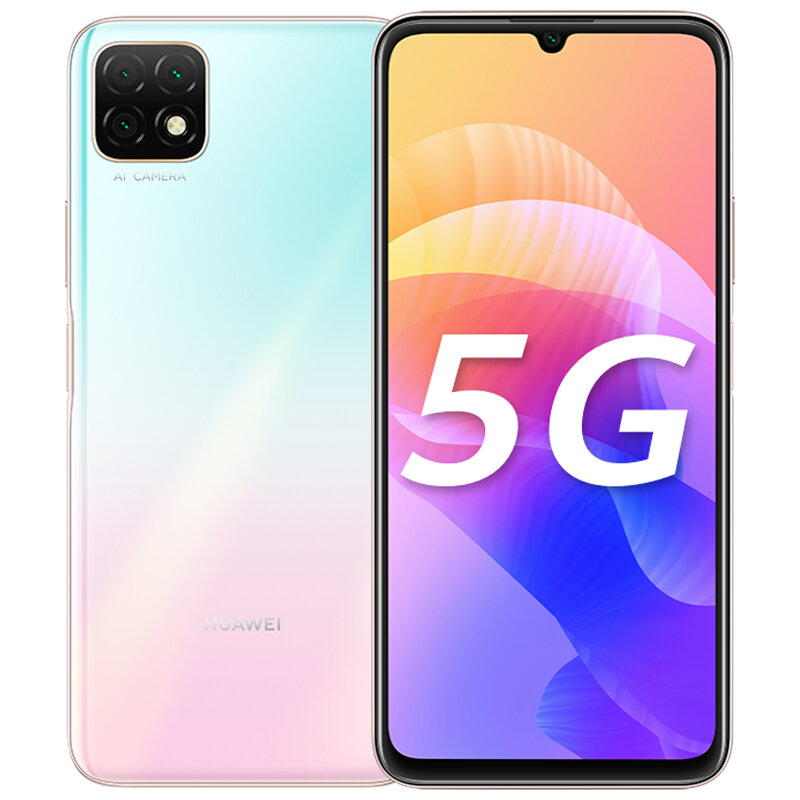 HUAWEI Enjoy 20 CN Version 6.6 inch Triple Rear Camera 6GB 128GB 5000mAh MTK MT6853 Octa Core 5G Smartphone - Pink