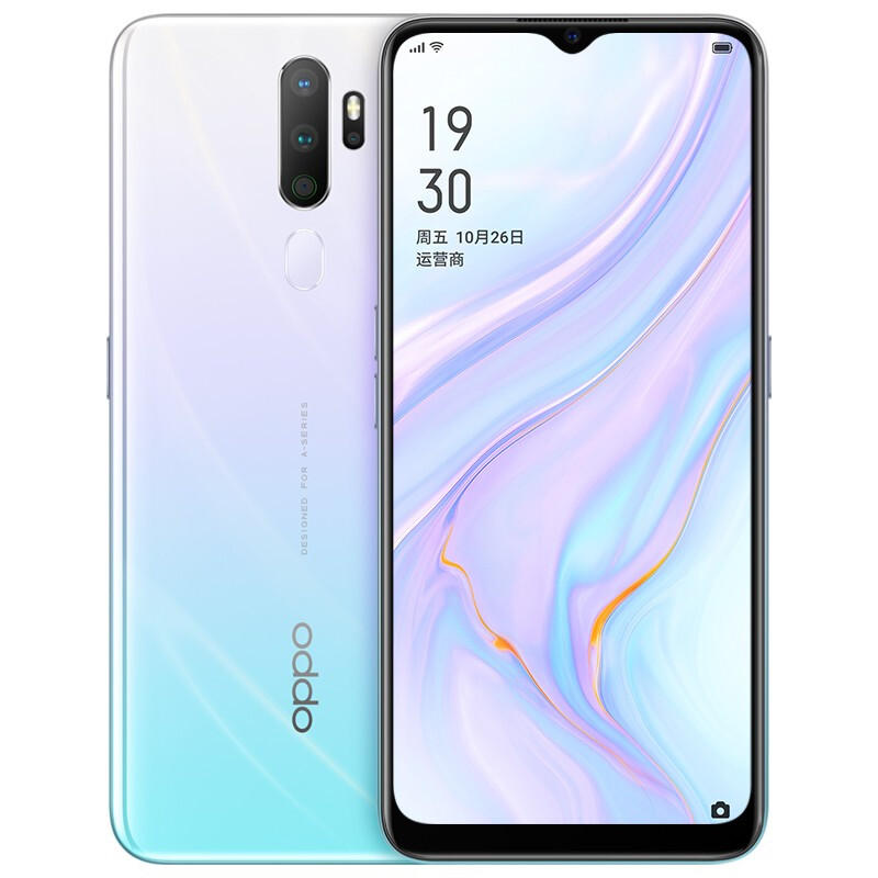 OPPO A11X CN Version 6.5 inch HD+ 5000mAh Android 9.0 48MP Quad Rear Cameras 8GB 128GB Snapdragon 665 Octa Core 4G Smartphone - Vanilla Mint