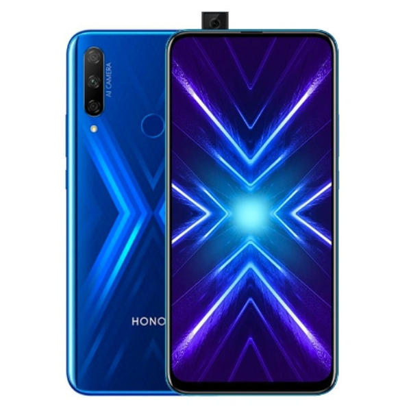 HUAWEI Honor 9X 6.59 inch 48MP Triple Camera 4000mAh 6GB 128GB Kirin 710F Octa Core 4G Smartphone - Blue
