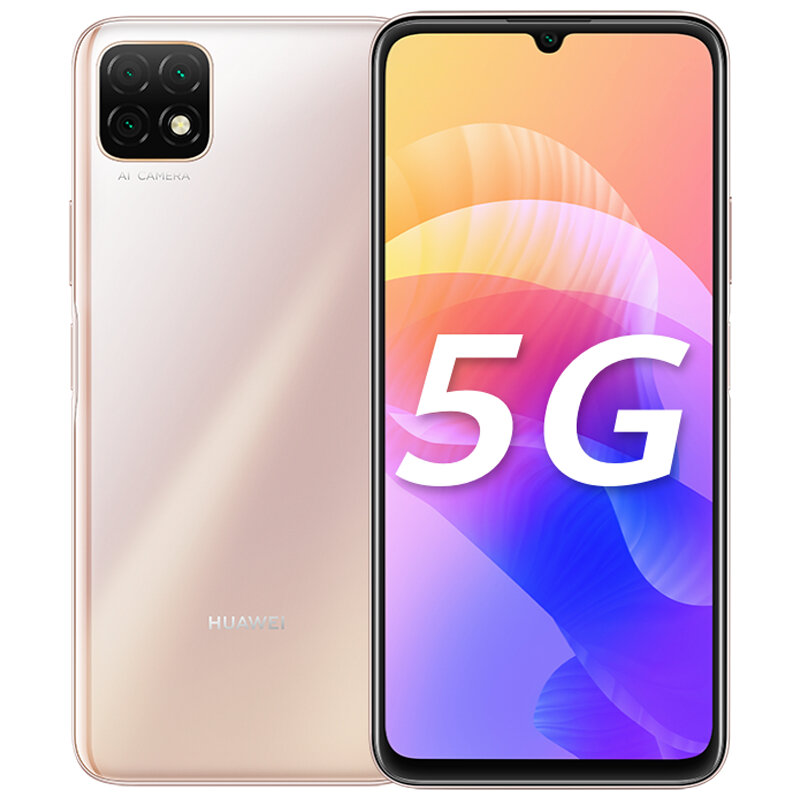 HUAWEI Enjoy 20 CN Version 6.6 inch Triple Rear Camera 6GB 128GB 5000mAh MTK MT6853 Octa Core 5G Smartphone - Gold