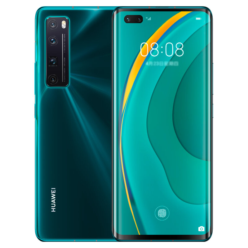 HUAWEI Nova 7 Pro CN Version 6.57 inch 50X Zoom 64MP Quad Rear Camera 8GB 128GB NFC Kirin 985 Octa Core 5G Smartphone - Green