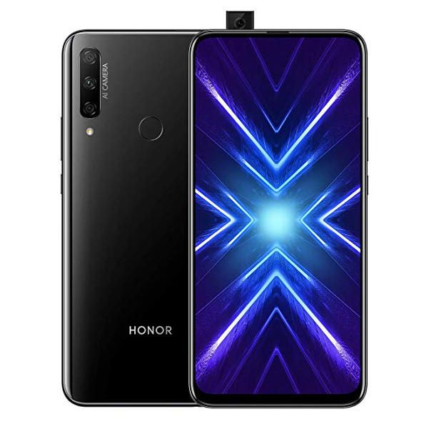 HUAWEI Honor 9X 6.59 inch 48MP Triple Camera 4000mAh 6GB 128GB Kirin 710F Octa Core 4G Smartphone - Black