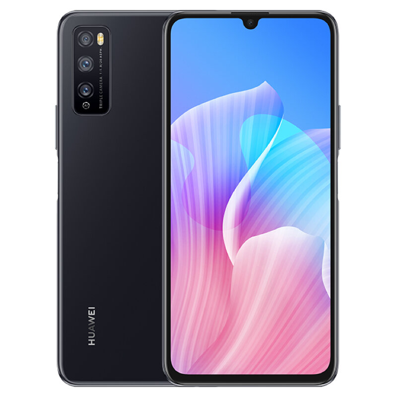 HUAWEI Enjoy Z CN Version 6.5 inch 48MP Triple Rear Camera 6GB 64GB MTK Dimensity 800 MT6873 Octa Core 5G Smartphone - Black