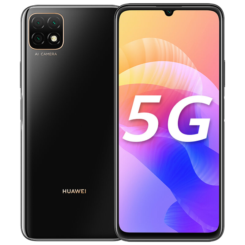 HUAWEI Enjoy 20 CN Version 6.6 inch Triple Rear Camera 6GB 128GB 5000mAh MTK MT6853 Octa Core 5G Smartphone - Black