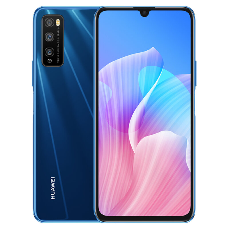 HUAWEI Enjoy Z CN Version 6.5 inch 48MP Triple Rear Camera 6GB 64GB MTK Dimensity 800 MT6873 Octa Core 5G Smartphone - Blue