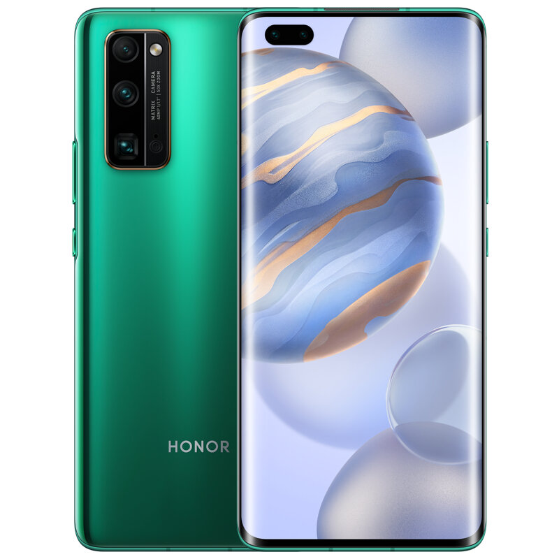 HUAWEI Honor 30 Pro CN Version 6.57 inch 50X Zoom 40MP Triple Camera 8GB 256GB Kirin 990 Octa Core 5G Smartphone - Green