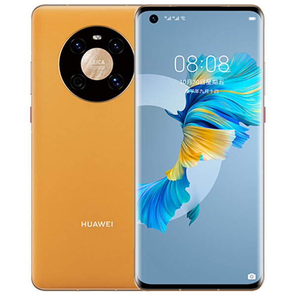 HUAWEI Mate 40 CN Version 6.5 inch 8GB 128GB 50MP Rear Camera 40W Fast Charge Kirin 9000E Octa Core 5G Smartphone - Yellow
