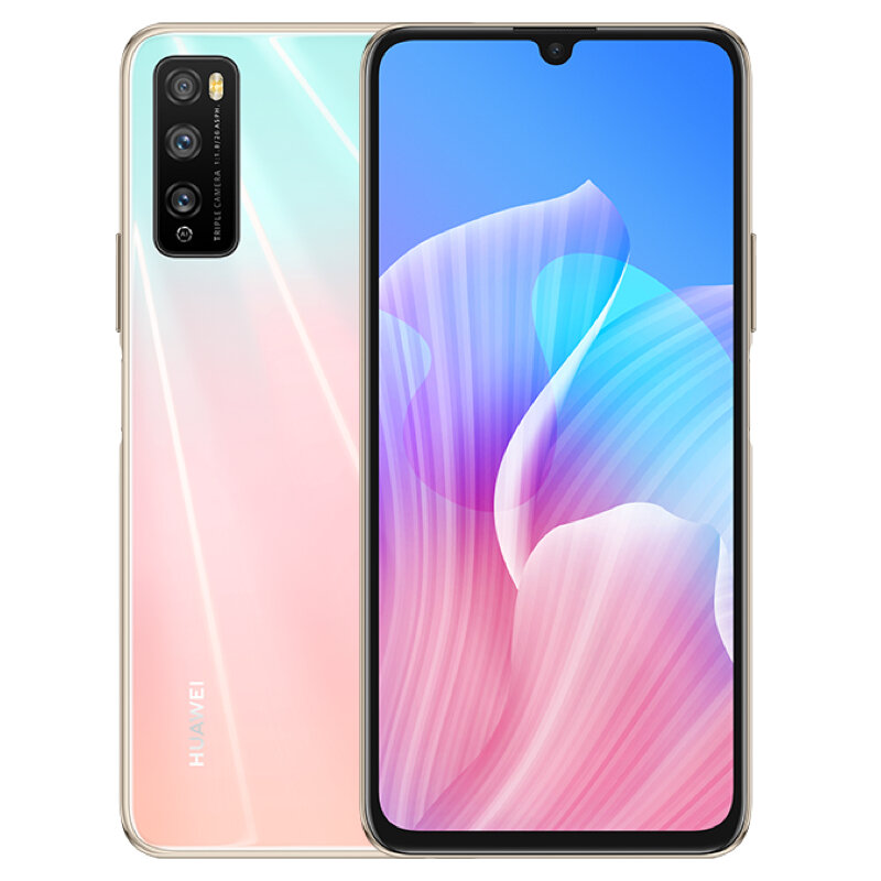 HUAWEI Enjoy Z CN Version 6.5 inch 48MP Triple Rear Camera 6GB 64GB MTK Dimensity 800 MT6873 Octa Core 5G Smartphone - Pink