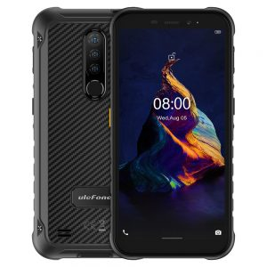 Ulefone Armor X8 IP68 IP69K Waterproof 5.7 inch 4GB 64GB 13MP Triple Rear Camera NFC 5080mAh MT6762 Octa Core 4G Rugged Smartphone